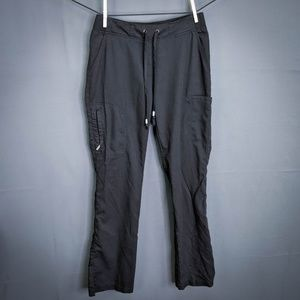 Greys Anatomy Scrub Bottoms Pants Size XS Black